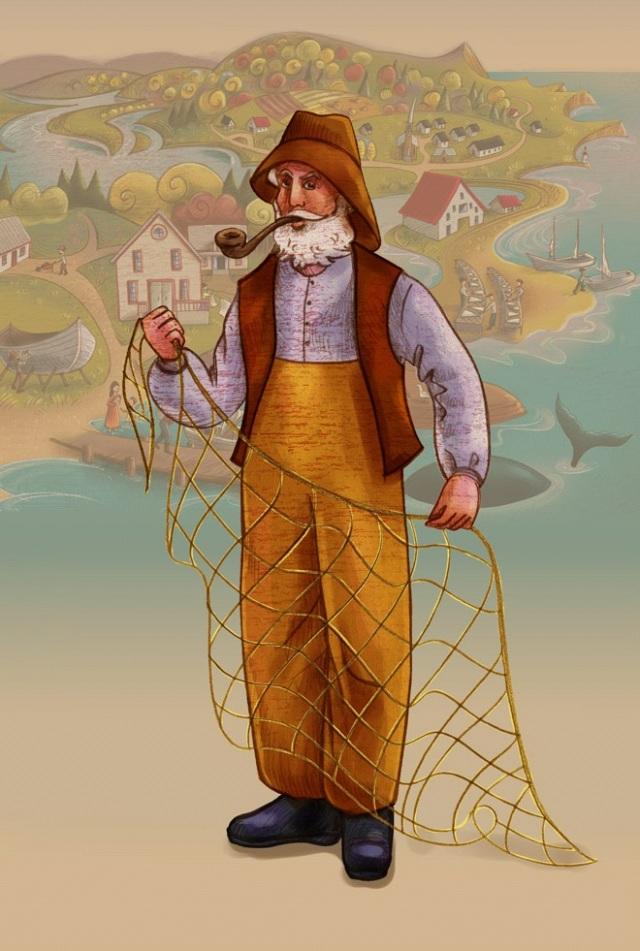 Le pêcheur de morue, Dick-à-saumure